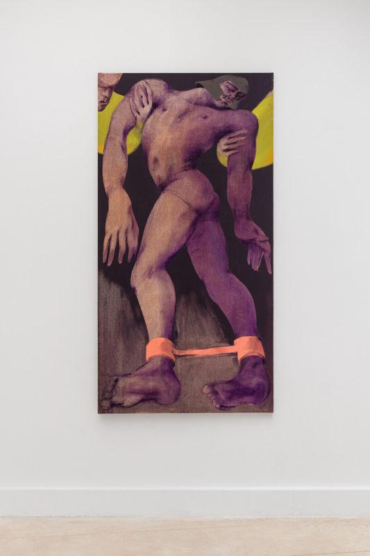 Alex Foxton - Galerie Derouillon - Saint George II