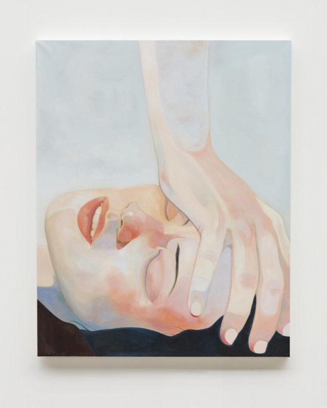 Inès Longevial – Galerie Ketabi Projects - The Sun of Fire 1, 2020 - Peinture, 162 x 130 cm